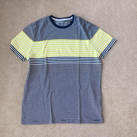 Banana republic striped shirt